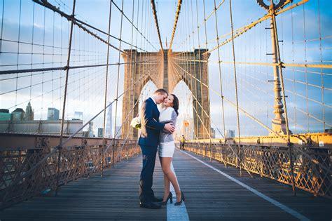 brooklyn bridge elopement  york marriage bureau