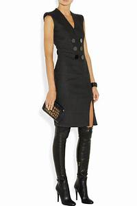 jimmy choo tamba stretch leather the knee boots in
