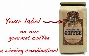 houston coffee exchange private label With custom coffee bag labels