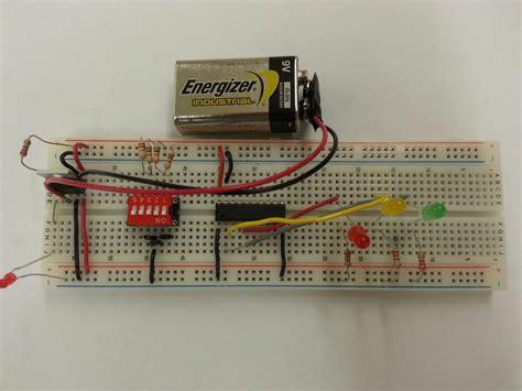 Traffic Light Circuitboard Abdullahportfolio