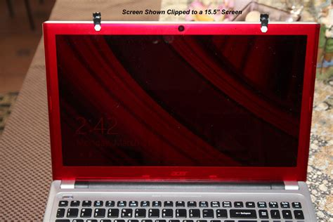 bright light computer screen astronomy red acrylic 15 quot or 15 5 quot laptop screen only ebay