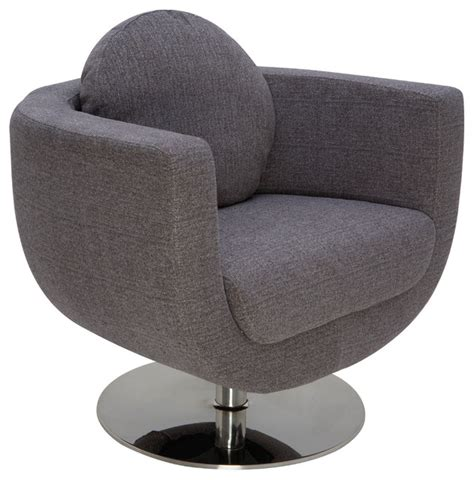 lounge chair gray contemporary indoor