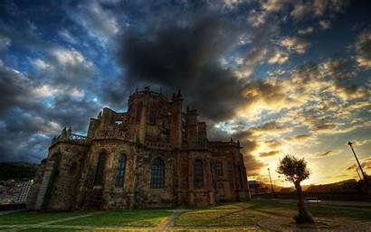 Castles Castle Wallpapers Haunted Medieval Scary Pc