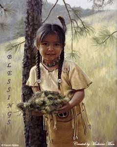 Little Indian Girl Blessings- | Spiritual haven | Pinterest