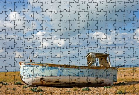 Puzzle Boat by Fishing Boat Jigsaw Puzzle Free Stock Photo