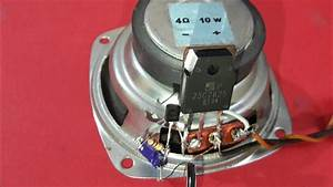 Audio Amplifier  Using 2 Transistor Bc548 2sc2625