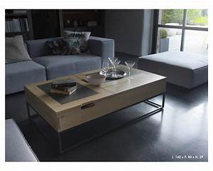 Table De Salon Transformable : table de salon transformable ~ Teatrodelosmanantiales.com Idées de Décoration