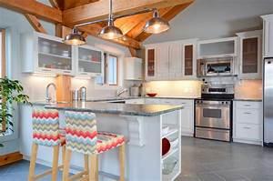 ilot cuisine idees accueil design et mobilier With idee cuisine avec ilot