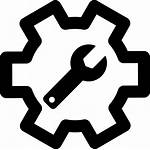 Maintenance Operation Icon Equipment Svg Icons Vector