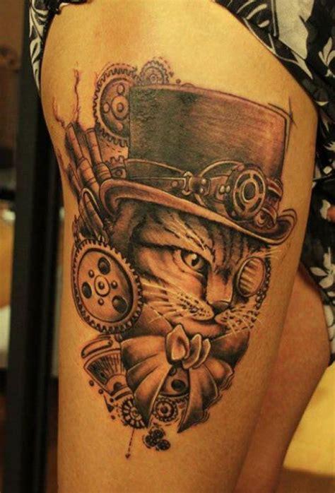 awesome steampunk tattoos ideas