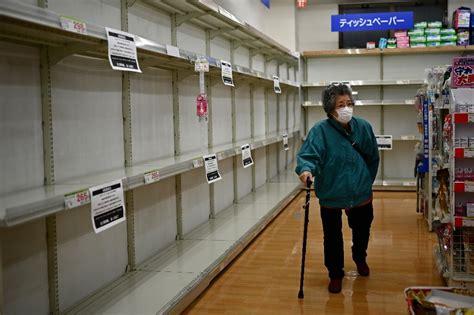 panic buying  coronavirus   globe
