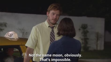Andy Dwyer Memes - love couple moon parks and recreation aubrey plaza andy dwyer april ludgate chris pratt