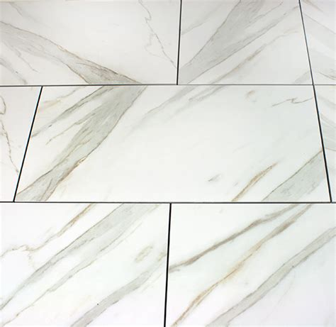 calacatta polished porcelain tile  discounted sale