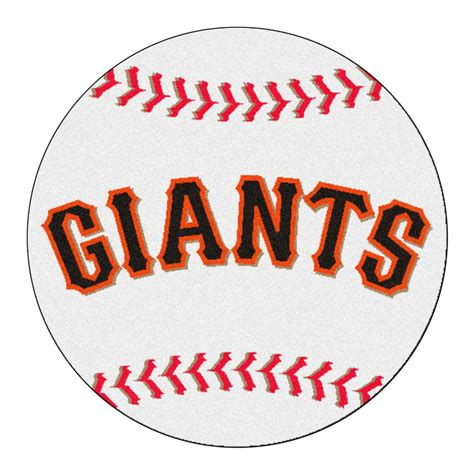 fanmats mlb san francisco giants white  ft     ft