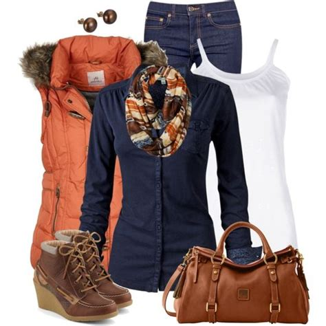 Orange Vest Way Out Of My League But Cute Fall Casual