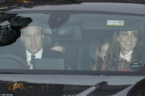 Prince William drives Kate and kids home after Queen's ...