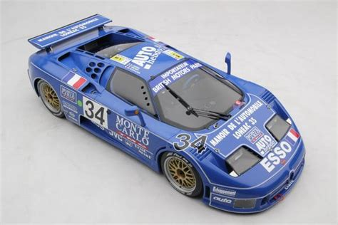 Taking the '1994 le mans car back after 25 years. Bugatti EB110 LM - 1994 Le Mans - Amalgam Collection