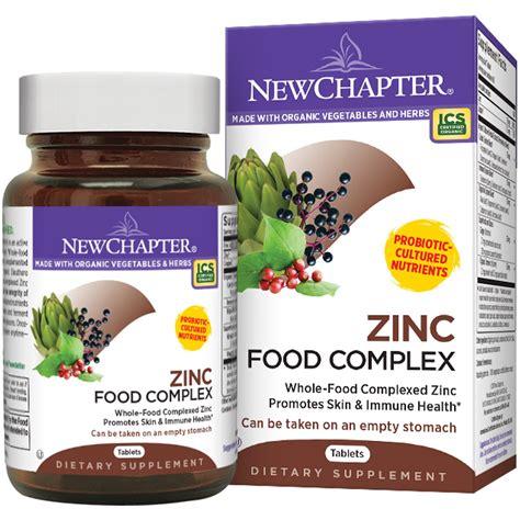 cuisine zinc chapter zinc food complex 60 tablets iherb com