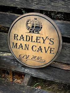 Buy, Hand, Crafted, Man, Cave, Sign, Fisherman, Cave, Sign, Bar, Sign, Man, Cave, Bar, Decor, Fishing