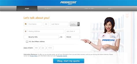 steps  progressive auto insurance quotes