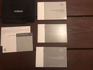 2018 Nissan Altima Sedan Owners Manual With Case Oem Free