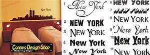 New York Schriftzug : new york skyline wandtattoo twin towers 80x20cm n2 ebay ~ Frokenaadalensverden.com Haus und Dekorationen