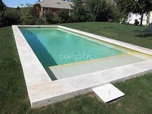 Carrelage Piscine Pas Cher : margelle de piscine en travertin 8 cm pas cher proche de ~ Premium-room.com Idées de Décoration
