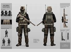Recon Infantry Concept by Jkuo on DeviantArt