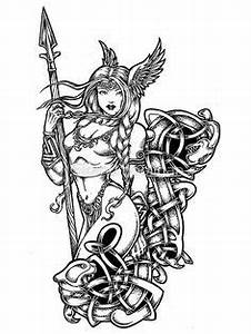 Tatouage Valkyrie Nordique : nordique viking vecteur illustration vinyl ready clipart tatouages vikings id e ~ Melissatoandfro.com Idées de Décoration