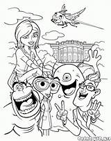 Coloring Aliens Monsters Vs Link Susan Young Missing Pages Heroes sketch template