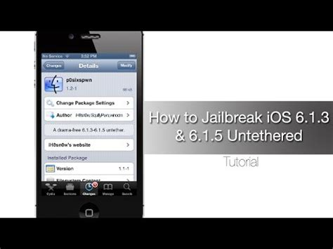 untethered jailbreak for ios 6 1 3 6 1 5 updated to fix issues with iphone 4 gsm