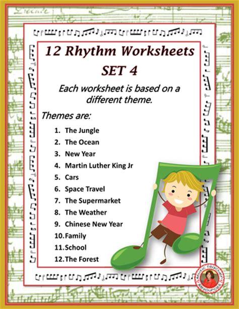 rhythm worksheets set   aussiemusicteacher teaching