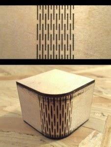 lasercut kerf bending patterns adafruit industries