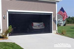 Retractable Garage Screen For Single  Double  And Golf