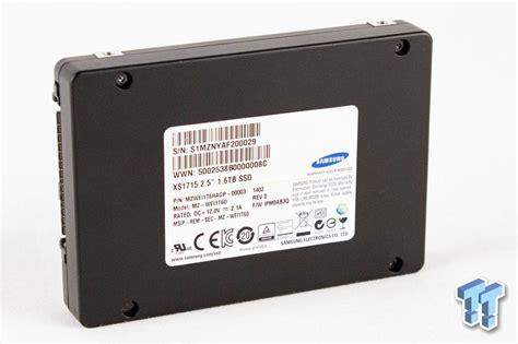 Samsung Xs1715 1.6tb 2.5-inch Nvme Pcie Enterprise Ssd Review