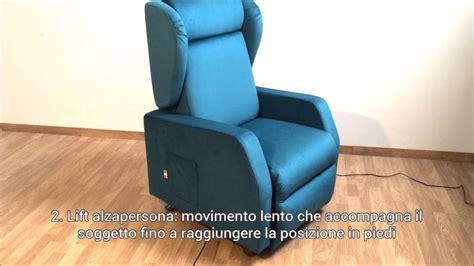 Poltrona Relax Lilli Con Lift Alzapersona + Roller System