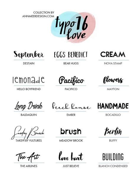 Die Besten 25+ Hochzeit Schriftarten Ideen Auf Pinterest