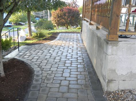 unilock camelot landscape and masonry contractor trac landscaping in