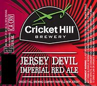 Image result for cricket hill jersey devil imperial red ale