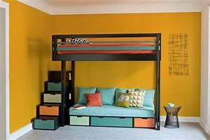 Lit Mezzanine Adulte Avec Dressing : mezzanine beds attic mezzanine ~ Dode.kayakingforconservation.com Idées de Décoration