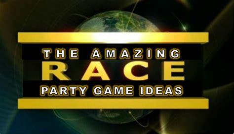 amazing race party ideas  pit stops challenges clues