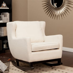 belham living upholstered rocking chair at hayneedle