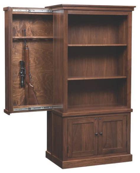 american cambridge bookcase  hidden gun safe