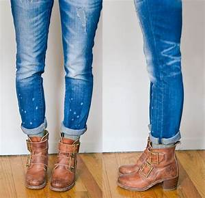 3 Ways to Wear Socks with Booties | Boyfriend jeans Socks and Skinny jeans
