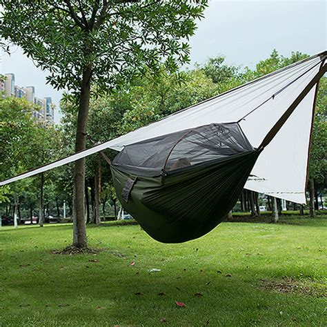 Canopy Hammock by New Ultralight Hanging Outdoor Portable Tree Tent Cing