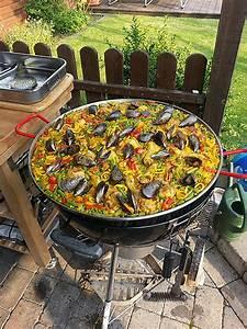 Pfanne Für Grill : paella pfanne grill kleinster mobiler gasgrill ~ Orissabook.com Haus und Dekorationen