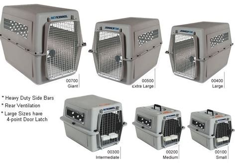 pet crate bidair accepts only iata approved crates