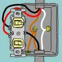 double light switch wiring  wiring  double light switch