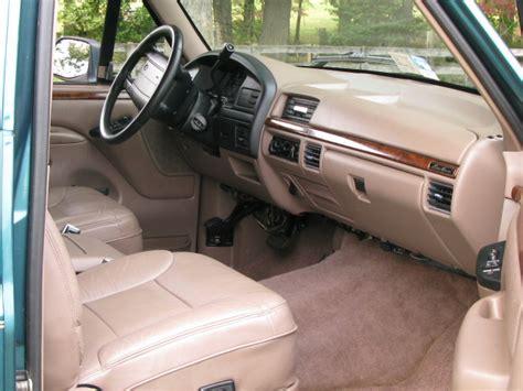 1996 ford bronco interior 1996 ford bronco interior trim