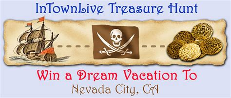 intownlive announces   treasure hunt contest   grand prize luxury vacation